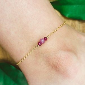 Shop Ruby Bracelets! Ruby ankle bracelet. Ruby anklet. Red ruby anklet. Handmade jewelry. Gemstone anklet. Crystal anklet. July birthstone anklet | Natural genuine Ruby bracelets. Buy crystal jewelry, handmade handcrafted artisan jewelry for women.  Unique handmade gift ideas. #jewelry #beadedbracelets #beadedjewelry #gift #shopping #handmadejewelry #fashion #style #product #bracelets #affiliate #ad