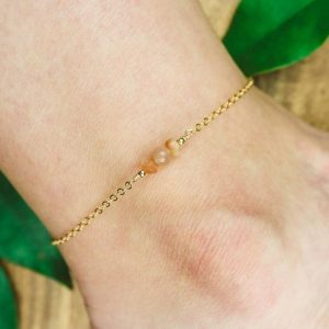 Shop Sunstone Bracelets! Sunstone Ankle Bracelet. Sunstone Anklet. Orange Anklet. Gemstone Anklet. Boho Crystal Anklet. Orange Jewellery. Anklets For Women. | Natural genuine Sunstone bracelets. Buy crystal jewelry, handmade handcrafted artisan jewelry for women.  Unique handmade gift ideas. #jewelry #beadedbracelets #beadedjewelry #gift #shopping #handmadejewelry #fashion #style #product #bracelets #affiliate #ad