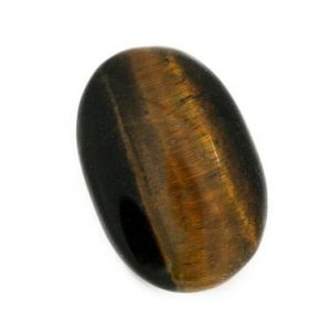 Shop Tiger Eye Cabochons! Tiger Eye Cabochon Stone (25mm X 17mm X 7mm) – Oval Cabochon – Gem For Ring | Natural genuine stones & crystals in various shapes & sizes. Buy raw cut, tumbled, or polished gemstones for making jewelry or crystal healing energy vibration raising reiki stones. #crystals #gemstones #crystalhealing #crystalsandgemstones #energyhealing #affiliate #ad