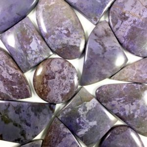 Shop Jade Cabochons! Turkish Purple Jade Cabochon Lots // Jade Cabochon // Gems // Cabochons // Jewelry Making Supplies / Village Silversmith | Natural genuine stones & crystals in various shapes & sizes. Buy raw cut, tumbled, or polished gemstones for making jewelry or crystal healing energy vibration raising reiki stones. #crystals #gemstones #crystalhealing #crystalsandgemstones #energyhealing #affiliate #ad