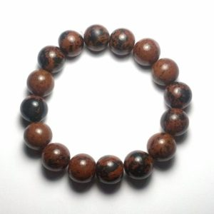 Shop Mahogany Obsidian Bracelets! 12mm Beautifully Polished Natural Undyed Mahogany Obsidian Bracelet Gemstone Bracelet Gemstone Beaded Bracelet Stretch Bracelet Yoga Bracele   Natural genuine Mahogany Obsidian bracelets. Buy crystal jewelry, handmade handcrafted artisan jewelry for women.  Unique handmade gift ideas. #jewelry #beadedbracelets #beadedjewelry #gift #shopping #handmadejewelry #fashion #style #product #bracelets #affiliate #ad