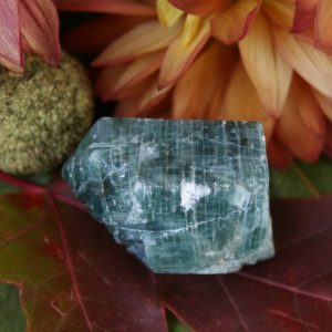 "Shop Apatite Stones & Crystals! Blue Apatite Crystal Specimen From Russia, 1.44"" X 1.15"" X 1.06"", Weight: 52 Grams 