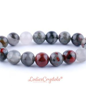 Shop Bloodstone Bracelets! 10mm Bloodstone Bracelet, Bloodstone Bracelets 10 Mm, Heliotrope Bead Bracelets, Heliotrope Healing Natural Bracelet, Bloodstone Crystal | Natural genuine Bloodstone bracelets. Buy crystal jewelry, handmade handcrafted artisan jewelry for women.  Unique handmade gift ideas. #jewelry #beadedbracelets #beadedjewelry #gift #shopping #handmadejewelry #fashion #style #product #bracelets #affiliate #ad