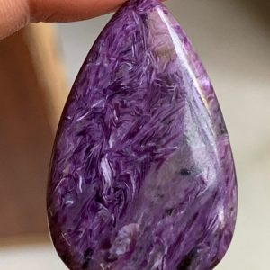 Shop Charoite Bead Shapes! Top quality charoite pear flat back cabochan,natural finest quality charoite drop cabs | Natural genuine other-shape Charoite beads for beading and jewelry making.  #jewelry #beads #beadedjewelry #diyjewelry #jewelrymaking #beadstore #beading #affiliate #ad
