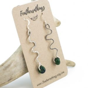 Shop Chrysocolla Earrings! Sterling Chrysocolla Earrings – Hammered Sterling Dangle Earrings – Green Stone Earrings – Long Sterling Earrings – Gift For Her | Natural genuine Chrysocolla earrings. Buy crystal jewelry, handmade handcrafted artisan jewelry for women.  Unique handmade gift ideas. #jewelry #beadedearrings #beadedjewelry #gift #shopping #handmadejewelry #fashion #style #product #earrings #affiliate #ad