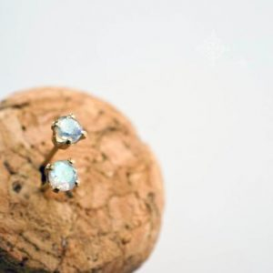 Shop Labradorite Jewelry! 3mm labradorite studs. gemstone studs. tiny gem earrings. gold or silver. blue flash labradorite earrings | Natural genuine Labradorite jewelry. Buy crystal jewelry, handmade handcrafted artisan jewelry for women.  Unique handmade gift ideas. #jewelry #beadedjewelry #beadedjewelry #gift #shopping #handmadejewelry #fashion #style #product #jewelry #affiliate #ad