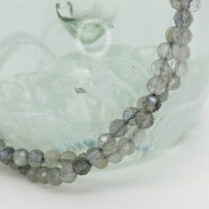 Shop Labradorite Faceted Beads! Natural Labradorite Round Faceted Ball Sphere Gemstone Loose Bead Beads 3mm 5mm | Natural genuine faceted Labradorite beads for beading and jewelry making.  #jewelry #beads #beadedjewelry #diyjewelry #jewelrymaking #beadstore #beading #affiliate #ad