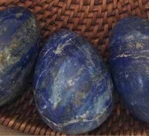 Lapis Lazuli Gemstone Egg, healing Stone, Chakra Stone, Spiritual Stone, healing Crystal | Natural genuine stones & crystals in various shapes & sizes. Buy raw cut, tumbled, or polished gemstones for making jewelry or crystal healing energy vibration raising reiki stones. #crystals #gemstones #crystalhealing #crystalsandgemstones #energyhealing #affiliate #ad