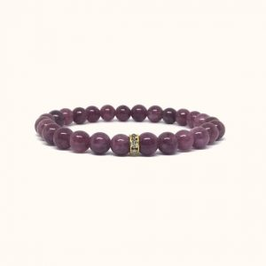 Shop Lepidolite Bracelets! Pink Lepidolite bracelet – dainty bracelet | Natural genuine Lepidolite bracelets. Buy crystal jewelry, handmade handcrafted artisan jewelry for women.  Unique handmade gift ideas. #jewelry #beadedbracelets #beadedjewelry #gift #shopping #handmadejewelry #fashion #style #product #bracelets #affiliate #ad