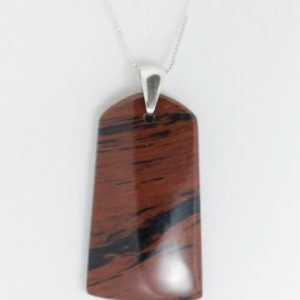 Shop Mahogany Obsidian Pendants! Mahogany with Black Obsidian • Pendant Necklace • Gift • Friendship • Birthday | Natural genuine Mahogany Obsidian pendants. Buy crystal jewelry, handmade handcrafted artisan jewelry for women.  Unique handmade gift ideas. #jewelry #beadedpendants #beadedjewelry #gift #shopping #handmadejewelry #fashion #style #product #pendants #affiliate #ad