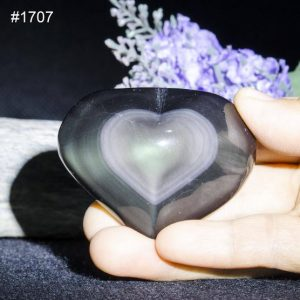 Shop Obsidian Shapes! Hand carved polished Ice Rainbow/Blue/Red Sheen Obsidian-heart-shaped/Obsidian Pendant/Meditation stone/Energy stone/Worry stone-undriiled | Natural genuine stones & crystals in various shapes & sizes. Buy raw cut, tumbled, or polished gemstones for making jewelry or crystal healing energy vibration raising reiki stones. #crystals #gemstones #crystalhealing #crystalsandgemstones #energyhealing #affiliate #ad