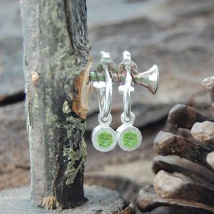 Shop Peridot Earrings! Gemstone Hoop Earrings, Silver Hoops, Silver Gemstone Earrings, Peridot Earrings, Birthstone Earrings, Natural Stone, Small Hoop Earrings | Natural genuine Peridot earrings. Buy crystal jewelry, handmade handcrafted artisan jewelry for women.  Unique handmade gift ideas. #jewelry #beadedearrings #beadedjewelry #gift #shopping #handmadejewelry #fashion #style #product #earrings #affiliate #ad