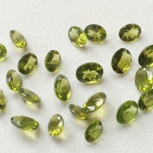 Shop Peridot Bead Shapes! 10 Pcs Peridot Oval Cut Stone, 4x6mm Natural Faceted Oval Full Cut Peridot, 4 Cts Loose Peridot Oval Gemstone, Peridot Jewelry – ANG 79 | Natural genuine other-shape Peridot beads for beading and jewelry making.  #jewelry #beads #beadedjewelry #diyjewelry #jewelrymaking #beadstore #beading #affiliate #ad