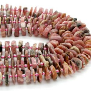 Shop Rhodochrosite Chip & Nugget Beads! Rhodochrosite, Natural Rhodochrosite Chips Nuggets Rough Cut Irregular Shape Loose Gemstone Beads | Natural genuine chip Rhodochrosite beads for beading and jewelry making.  #jewelry #beads #beadedjewelry #diyjewelry #jewelrymaking #beadstore #beading #affiliate #ad