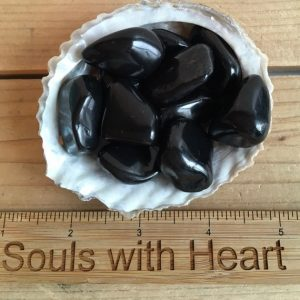 Shungite Medium Tumbled Stones, Healing Stones, Healing Crystal,Chakra Stones, Spiritual Stone | Natural genuine stones & crystals in various shapes & sizes. Buy raw cut, tumbled, or polished gemstones for making jewelry or crystal healing energy vibration raising reiki stones. #crystals #gemstones #crystalhealing #crystalsandgemstones #energyhealing #affiliate #ad