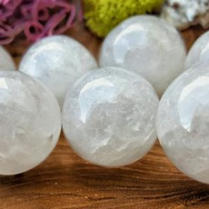Shop Stone Spheres! Smoky Quartz Crystal Sphere – Hand Carved Gem Stone Ball For Crystal Grids Or Terrarium 066 | Natural genuine stones & crystals in various shapes & sizes. Buy raw cut, tumbled, or polished gemstones for making jewelry or crystal healing energy vibration raising reiki stones. #crystals #gemstones #crystalhealing #crystalsandgemstones #energyhealing #affiliate #ad