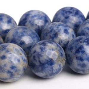 "Shop Sodalite Round Beads! 15mm Sodalite Beads Grade Aaa Genuine Natural Gemstone Full Strand Round Loose Beads 15.5"" Bulk Lot 1, 3, 5, 10 And 50 (103564-993) 