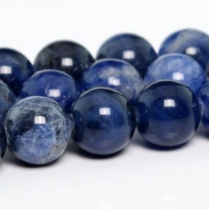 "Shop Sodalite Round Beads! 4mm Sodalite Beads Grade Aaa Genuine Natural Gemstone Full Strand Round Loose Beads 15"" Bulk Lot 1, 3, 5, 10 And 50 (100143-263) 