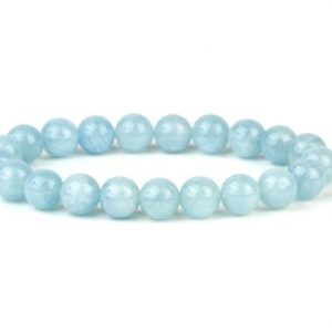 Shop Aquamarine Bracelets! Aquamarine Bracelet, Aquamarine Beads, March Birthstone, Dainty Bracelet, Aquamarine Jewelry, Genuine Aquamarine, Bracelet Femme | Natural genuine Aquamarine bracelets. Buy crystal jewelry, handmade handcrafted artisan jewelry for women.  Unique handmade gift ideas. #jewelry #beadedbracelets #beadedjewelry #gift #shopping #handmadejewelry #fashion #style #product #bracelets #affiliate #ad