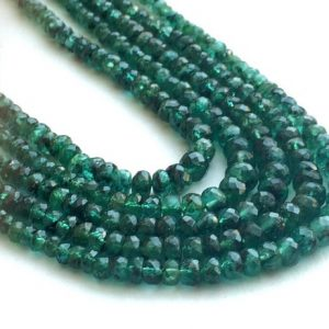 Shop Emerald Faceted Beads! Emerald Beads, Emerald Faceted Rondelle Beads, Emerald Necklace, Original Emerald, 2.5mm To 4.5mm, 8 Inch Strand | Natural genuine faceted Emerald beads for beading and jewelry making.  #jewelry #beads #beadedjewelry #diyjewelry #jewelrymaking #beadstore #beading #affiliate #ad