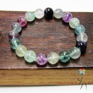 Shop Fluorite Bracelets! Fluorite Bracelet Healing Fluorite Bracelet Concentration & Focus Bracelet Fluorite Crown Chakra Bracelet Fluorite Protective Bracelet M | Natural genuine Fluorite bracelets. Buy crystal jewelry, handmade handcrafted artisan jewelry for women.  Unique handmade gift ideas. #jewelry #beadedbracelets #beadedjewelry #gift #shopping #handmadejewelry #fashion #style #product #bracelets #affiliate #ad