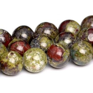 Shop Jasper Beads! Dragon Blood Jasper Beads Grade AAA Genuine Natural Gemstone Round Loose Beads 4MM 6MM 8MM 10MM Bulk Lot Options | Natural genuine beads Jasper beads for beading and jewelry making.  #jewelry #beads #beadedjewelry #diyjewelry #jewelrymaking #beadstore #beading #affiliate #ad