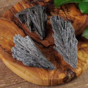 Shop Kyanite Stones & Crystals! Black Kyanite Fan – Xs To L – Raw Kyanite Crystal, Raw Healing Crystal, Healing Stone, Kyanite Blade, Grounding Stone, Kyanite Stone E0836 | Natural genuine stones & crystals in various shapes & sizes. Buy raw cut, tumbled, or polished gemstones for making jewelry or crystal healing energy vibration raising reiki stones. #crystals #gemstones #crystalhealing #crystalsandgemstones #energyhealing #affiliate #ad