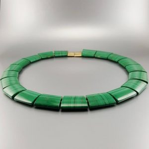 Shop Malachite Necklaces! Malachite Statement Necklace Gift Idea For Her – Cleopatra Necklace | Natural genuine Malachite necklaces. Buy crystal jewelry, handmade handcrafted artisan jewelry for women.  Unique handmade gift ideas. #jewelry #beadednecklaces #beadedjewelry #gift #shopping #handmadejewelry #fashion #style #product #necklaces #affiliate #ad