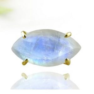 Gold moonstone ring,marquise ring,prong ring,gold filled ring,rose gold ring,wedding ring,statement ring | Natural genuine Gemstone jewelry. Buy handcrafted artisan wedding jewelry.  Unique handmade bridal jewelry gift ideas. #jewelry #beadedjewelry #gift #crystaljewelry #shopping #handmadejewelry #wedding #bridal #jewelry #affiliate #ad