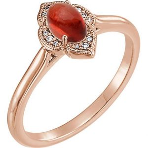 Shop Sunstone Rings! Elven Oregon Sunstone Ring In Rose Gold | Dainty Red Stone Ring | Natural genuine Sunstone rings, simple unique handcrafted gemstone rings. #rings #jewelry #shopping #gift #handmade #fashion #style #affiliate #ad