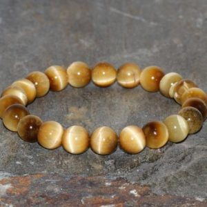 Shop Tiger Eye Bracelets! Yellow Tiger Eye Bracelet, 8mm Tiger Eye Beads Bracelet, Golden Tiger Eye Bracelet, Honey Tiger's Eye Bracelet Gemstone Bracelet Jewelry | Natural genuine Tiger Eye bracelets. Buy crystal jewelry, handmade handcrafted artisan jewelry for women.  Unique handmade gift ideas. #jewelry #beadedbracelets #beadedjewelry #gift #shopping #handmadejewelry #fashion #style #product #bracelets #affiliate #ad