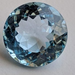 Shop Topaz Round Beads! Blue Topaz Round Cut Stone, 13mm Natural Blue Topaz Full Round Cut Stone,  Loose Blue Topaz Pointed Back Stone, Topaz Ring Size – Pnt25 | Natural genuine round Topaz beads for beading and jewelry making.  #jewelry #beads #beadedjewelry #diyjewelry #jewelrymaking #beadstore #beading #affiliate #ad