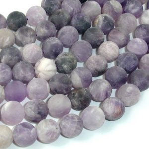 Shop Amethyst Round Beads! Matte Amethyst Beads, 12mm Round Beads, 15 Inch, Full strand, Approx 32 beads, Hole 1mm (115054055) | Natural genuine round Amethyst beads for beading and jewelry making.  #jewelry #beads #beadedjewelry #diyjewelry #jewelrymaking #beadstore #beading #affiliate #ad