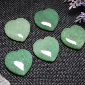 Shop Aventurine Shapes! Best Hand Carved Green Aventurine Polished Heart Shaped / Natural Green Aventurine Stone / worry Stone / decoration / special Gift-30mm | Natural genuine stones & crystals in various shapes & sizes. Buy raw cut, tumbled, or polished gemstones for making jewelry or crystal healing energy vibration raising reiki stones. #crystals #gemstones #crystalhealing #crystalsandgemstones #energyhealing #affiliate #ad