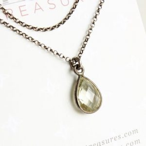 Shop Green Amethyst Pendants! Green Amethyst Sterling Silver Solitaire Necklace natural green gemstone dainty modern minimalist layered pendant birthday gift for her 3872 | Natural genuine Green Amethyst pendants. Buy crystal jewelry, handmade handcrafted artisan jewelry for women.  Unique handmade gift ideas. #jewelry #beadedpendants #beadedjewelry #gift #shopping #handmadejewelry #fashion #style #product #pendants #affiliate #ad