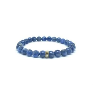 Shop Kyanite Bracelets! Kyanite Bracelet – Dainty Bracelet | Natural genuine Kyanite bracelets. Buy crystal jewelry, handmade handcrafted artisan jewelry for women.  Unique handmade gift ideas. #jewelry #beadedbracelets #beadedjewelry #gift #shopping #handmadejewelry #fashion #style #product #bracelets #affiliate #ad