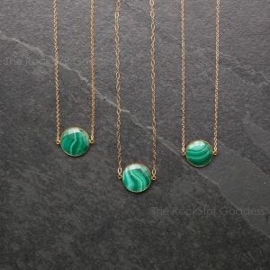 Shop Malachite Pendants! Gold Malachite Necklace / Malachite / Malachite Pendant / Malachite Jewelry | Natural genuine Malachite pendants. Buy crystal jewelry, handmade handcrafted artisan jewelry for women.  Unique handmade gift ideas. #jewelry #beadedpendants #beadedjewelry #gift #shopping #handmadejewelry #fashion #style #product #pendants #affiliate #ad