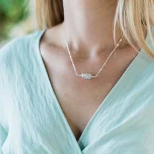 Shop Moonstone Necklaces! White moonstone gemstone necklace. White moonstone necklace. White gemstone necklace. Moonstone crystal necklace. June birthstone necklace. | Natural genuine Moonstone necklaces. Buy crystal jewelry, handmade handcrafted artisan jewelry for women.  Unique handmade gift ideas. #jewelry #beadednecklaces #beadedjewelry #gift #shopping #handmadejewelry #fashion #style #product #necklaces #affiliate #ad