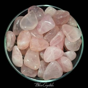 Shop Tumbled Rose Quartz Crystals & Pocket Stones! 1 Xl Gemmy Rose Quartz Tumbled Stone Extra Quality Find True Love #rq52 | Natural genuine stones & crystals in various shapes & sizes. Buy raw cut, tumbled, or polished gemstones for making jewelry or crystal healing energy vibration raising reiki stones. #crystals #gemstones #crystalhealing #crystalsandgemstones #energyhealing #affiliate #ad