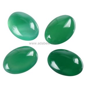 Shop Agate Cabochons! 2pcs AAA Natural Green Agate Oval Cabochon Flatback Gemstone Cabochons 20x15mm #GN42 | Natural genuine stones & crystals in various shapes & sizes. Buy raw cut, tumbled, or polished gemstones for making jewelry or crystal healing energy vibration raising reiki stones. #crystals #gemstones #crystalhealing #crystalsandgemstones #energyhealing #affiliate #ad
