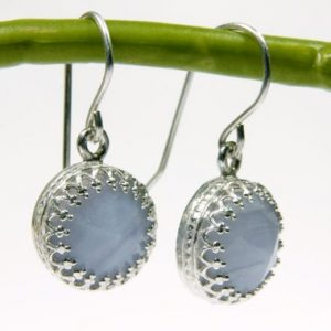 french hook silver earrings,Lace agate earrings,sterling silver jewelry,dangle earrings,bridesmaid earrings | Natural genuine Gemstone earrings. Buy crystal jewelry, handmade handcrafted artisan jewelry for women.  Unique handmade gift ideas. #jewelry #beadedearrings #beadedjewelry #gift #shopping #handmadejewelry #fashion #style #product #earrings #affiliate #ad