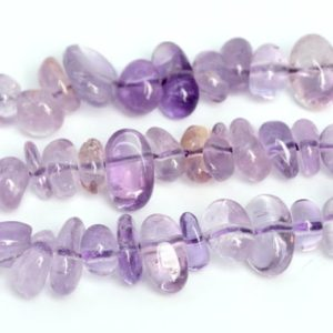 """Shop Ametrine Chip & Nugget Beads! 4-10MM Ametrine Beads Pebble Chips Grade AA Genuine Natural Gemstone Beads 16""""/7.5"""" Bulk Lot Options (108402) 