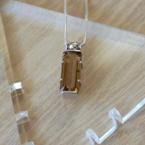 Shop Ametrine Pendants! Ametrine Pendant / / Rectangle Ametrine / / Ametrine / / Ametrine Necklace / / Amethyst / / Citrine / / Sterling Silver | Natural genuine Ametrine pendants. Buy crystal jewelry, handmade handcrafted artisan jewelry for women.  Unique handmade gift ideas. #jewelry #beadedpendants #beadedjewelry #gift #shopping #handmadejewelry #fashion #style #product #pendants #affiliate #ad