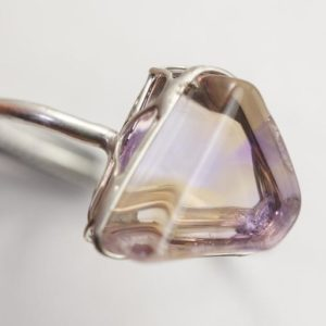 Shop Ametrine Rings! Ametrine Ring | Natural genuine Ametrine rings, simple unique handcrafted gemstone rings. #rings #jewelry #shopping #gift #handmade #fashion #style #affiliate #ad