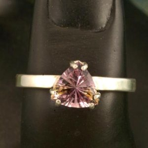 Blended Ametrine Unique Engagement Ring | Natural genuine Ametrine rings, simple unique alternative gemstone engagement rings. #rings #jewelry #bridal #wedding #jewelryaccessories #engagementrings #weddingideas #affiliate #ad