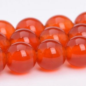 Red Carnelian Beads Grade AAA Genuine Natural Gemstone Round Loose Beads 4MM 6MM 8MM 10MM 12MM 15MM Bulk Lot Options | Natural genuine round Carnelian beads for beading and jewelry making.  #jewelry #beads #beadedjewelry #diyjewelry #jewelrymaking #beadstore #beading #affiliate #ad