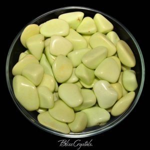 Grade A! 1 CITRON CHRYSOPRASE Tumbled Stone #CC08 | Natural genuine stones & crystals in various shapes & sizes. Buy raw cut, tumbled, or polished gemstones for making jewelry or crystal healing energy vibration raising reiki stones. #crystals #gemstones #crystalhealing #crystalsandgemstones #energyhealing #affiliate #ad