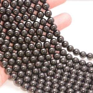 Free Usa Ship Genuine Natural Black Jet Gemstone Grade Aaa 4mm 6mm 8mm 10mm 12mm Round Loose Beads Full Strand | Natural genuine beads Jet beads for beading and jewelry making.  #jewelry #beads #beadedjewelry #diyjewelry #jewelrymaking #beadstore #beading #affiliate #ad