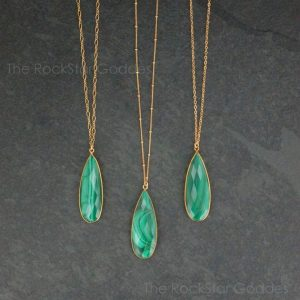 Shop Malachite Pendants! Gold Malachite Necklace / Malachite / Malachite Pendant / Malachite Jewelry / Satellite Chain | Natural genuine Malachite pendants. Buy crystal jewelry, handmade handcrafted artisan jewelry for women.  Unique handmade gift ideas. #jewelry #beadedpendants #beadedjewelry #gift #shopping #handmadejewelry #fashion #style #product #pendants #affiliate #ad