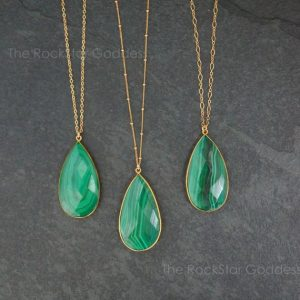 Shop Malachite Pendants! Gold Malachite Necklace / Malachite / Malachite Pendant / Malachite Jewelry / Green Malachite Pendant | Natural genuine Malachite pendants. Buy crystal jewelry, handmade handcrafted artisan jewelry for women.  Unique handmade gift ideas. #jewelry #beadedpendants #beadedjewelry #gift #shopping #handmadejewelry #fashion #style #product #pendants #affiliate #ad